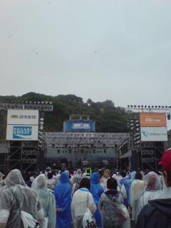 湘南音祭@ 豪雨な江ノ島